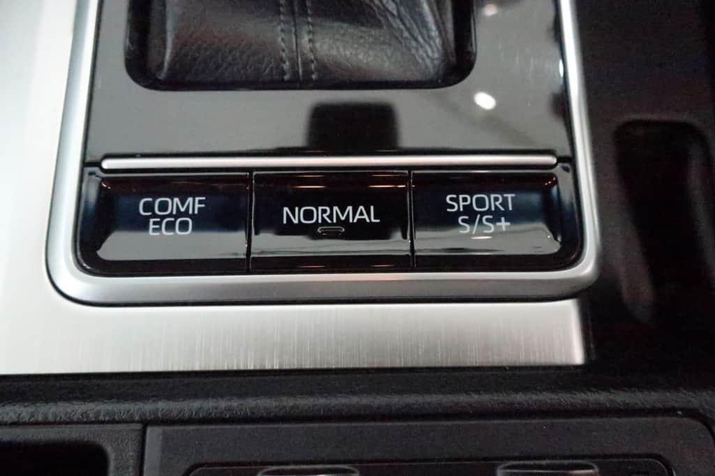 ランドクルーザープラド ドライブモード