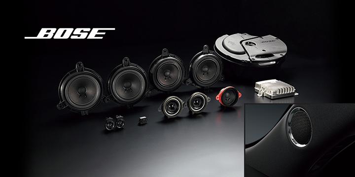 CX-5 Boseサウンドシステム (AUDIOPILOT™2+Centerpoint®2)+10スピーカ