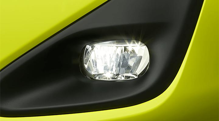 シエンタ LEDフォグランプ