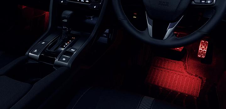 シビックハッチバック 光のアイテムパッケージ
