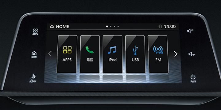 エクリプスクロス スマートフォン連携ディスプレイオーディオ[SDA]
