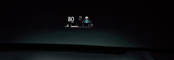 RX カラーヘッドアップディスプレイ