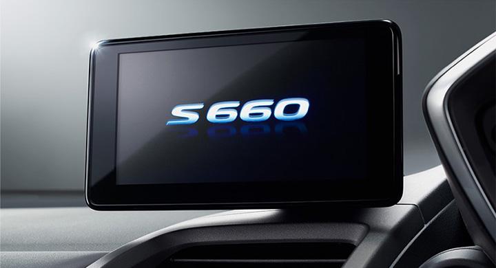 S660 センターディスプレイ(internavi POCKET連携対応)