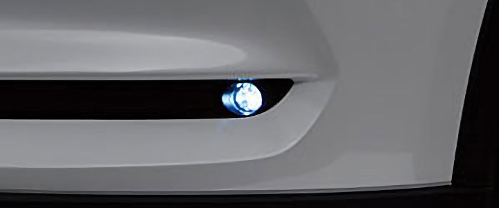 CX-8 LEDフォグランプ