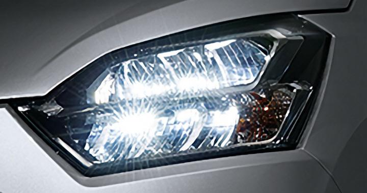 ミライース LEDヘッドライト