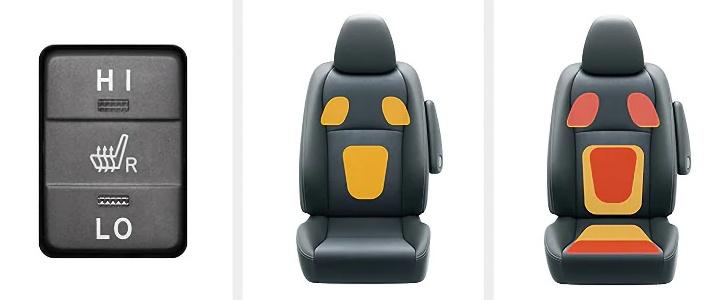 ヴィッツ 快適温熱シート(運転席)