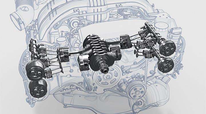インプレッサG4 エンジン