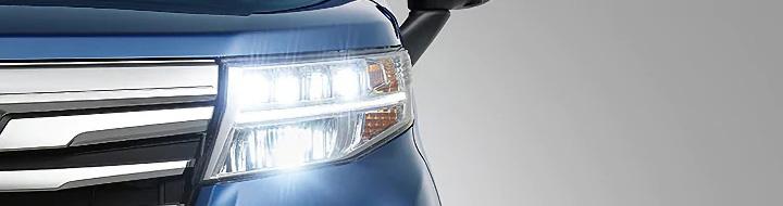 ルーミー LEDヘッドランプ(オートレベリング機能付)